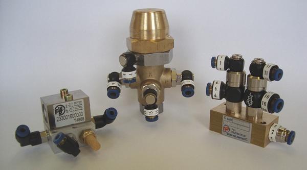 Produits FBO - Raccord instantané Pneuclip - Platines